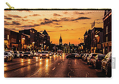 Stratford Main Drag At Dusk Carry-all Pouch