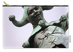 Stratford's Jester Statue Carry-all Pouch