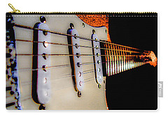 Stratocaster Pop Art Tangerine Sparkle Fire Neck Series Carry-all Pouch