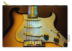 Stratocaster Tobacco Burst Glow Neck Series  Carry-all Pouch