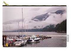 Stratus Clouds Over Horseshoe Bay Carry-all Pouch