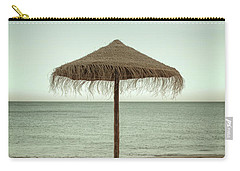 Carry-all Pouch featuring the photograph Straw Shader by Carlos Caetano