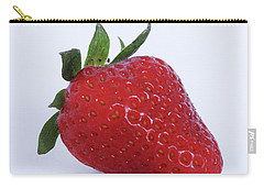 Strawberry Carry-all Pouch by Julia Wilcox