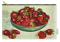 Strawberry Memories Carry-all Pouch