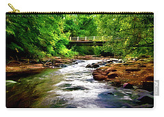 Stream In Boulder Colorado Carry-all Pouch