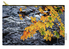 Stream In Fall Carry-all Pouch