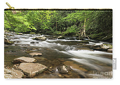 Stream In The Smokies Carry-all Pouch
