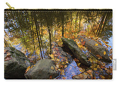 Stream Side Reflections Carry-all Pouch by Mike Eingle