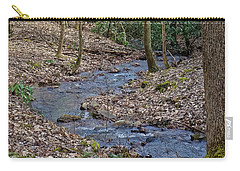 Stream Up The Hollow Carry-all Pouch by Denise Romano