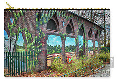 Carry-all Pouch featuring the photograph Street Art Berlin by Jivko Nakev