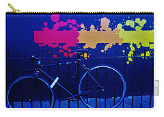 Street Art Bike In New York Carry-all Pouch