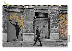 Street Art In Malaga Spain Carry-all Pouch