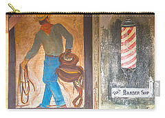 Carry-all Pouch featuring the photograph Street Art - Melba, Id by Dart Humeston
