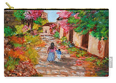 Street In Monemvasia Carry-all Pouch
