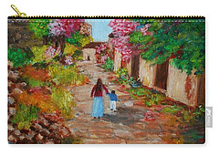 Street In Monemvasia Carry-all Pouch