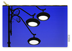 Street Light And Moonrise Carry-all Pouch