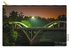 Street Light On Rogue River Bridge Carry-all Pouch