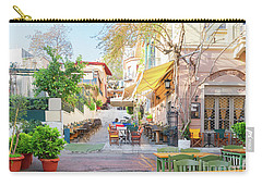 Street Of Athens, Greece Carry-all Pouch