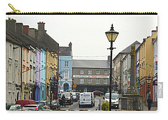 Streets Of Cahir Carry-all Pouch by Marie Leslie