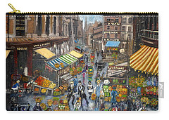 Street Scene Market Carry-all Pouch