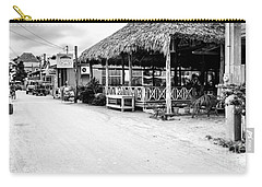Street Scene On Caye Caulker Carry-all Pouch