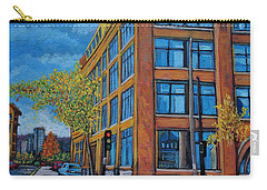 Street Study Montreal Carry-all Pouch by Reb Frost