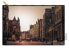 Streets Of Edinburgh Scotland  Carry-all Pouch