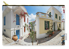 Streets Of Skopelos Carry-all Pouch