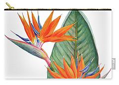 Strelitzia Reginae Bird Of Paradise Carry-all Pouch