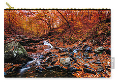 Carry-all Pouch featuring the photograph Stress Relief by Edward Kreis