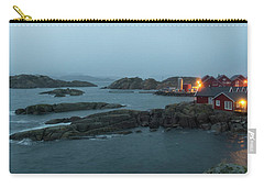 Carry-all Pouch featuring the photograph Stretching Time by Alex Lapidus