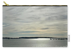 Striated Sky Over Casco Bay Carry-all Pouch