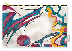 Strife To Calm Carry-all Pouch