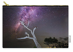 Striking Milkyway Over A Lone Tree Carry-all Pouch