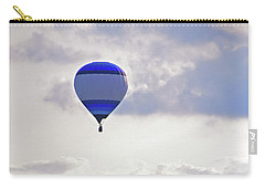 Carry-all Pouch featuring the photograph Striped Balloon by Angela Murdock