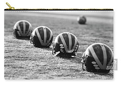 Striped Helmets On The Field Carry-all Pouch