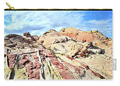 Stripes Of Valley Of Fire Carry-all Pouch