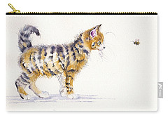 Stripey Creatures Carry-all Pouch