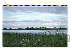 Strolling By The Lake Carry-all Pouch by Terence Davis