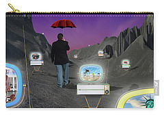 Carry-all Pouch featuring the photograph Strolling Down Memory Lane by Mike McGlothlen