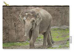 Strolling Elephant Carry-all Pouch