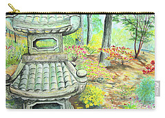 Strolling Through The Japanese Garden Carry-all Pouch