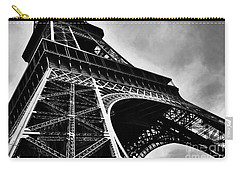 Carry-all Pouch featuring the photograph Strong As Steel In Paris by Mel Steinhauer