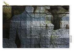 Strong, Fearless, Beautiful  Carry-all Pouch by Danica Radman