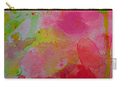Carry-all Pouch featuring the painting Stronger Every Day by Tracy Bonin