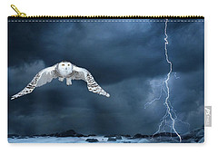 Stronger Than The Storm Carry-all Pouch by Heather King