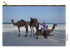 Stubborn Wedding Camels Carry-all Pouch