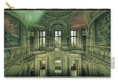 Carry-all Pouch featuring the photograph Stucco Villa - Villa Degli Stucchi II by Enrico Pelos