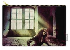 Carry-all Pouch featuring the digital art Stuck by Gun Legler