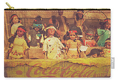 Carry-all Pouch featuring the photograph Stuck In This Box With Nothing To Drink by Toni Hopper